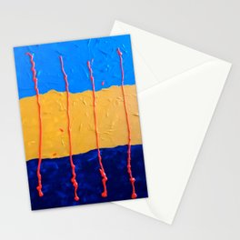 Abstract #6 Stationery Cards