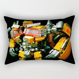 The Golden Optimus Rectangular Pillow