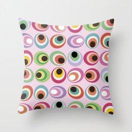 Midcentury abstract art: 1969 Throw Pillow