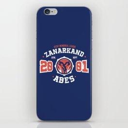 Zanarkand Abes Blitzball Athletic Shirt Distressed iPhone Skin