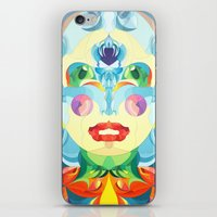 i woke up like this iPhone & iPod Skins featuring I Woke up like This by Anai Greog