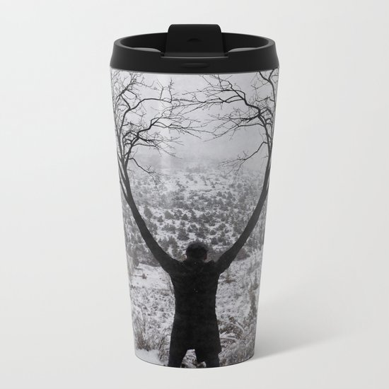 Greetings Metal Travel Mug