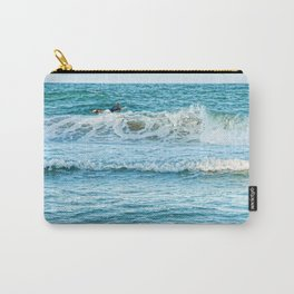 Enjoying the surf in summer Carry-All Pouch