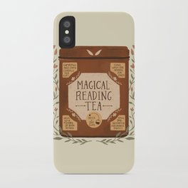 Magical Reading Tea iPhone Case