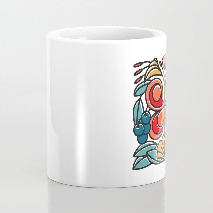 Butterfly tile Coffee Mug