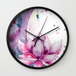 Shavasana Wall Clock