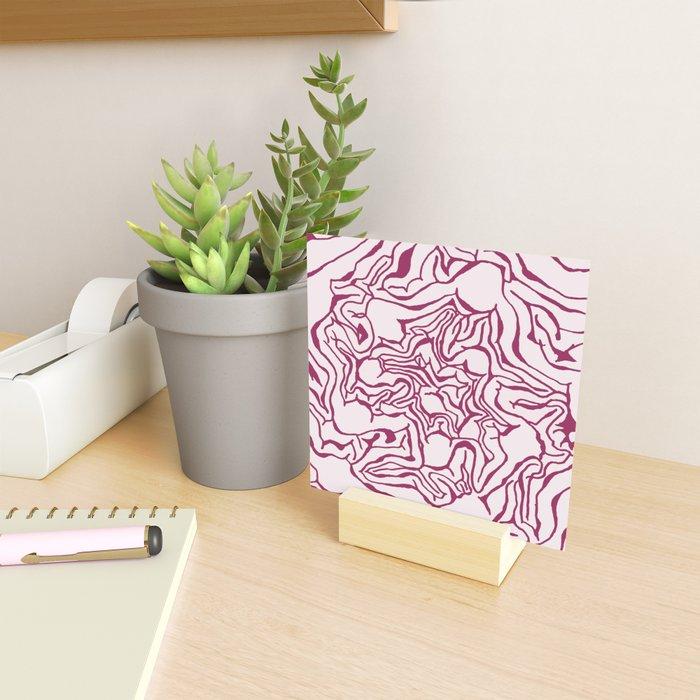 Cabbage Core Mini Art Print