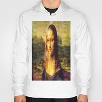 da vinci Hoodies featuring The Da Vinci Code by  Agostino Lo Coco