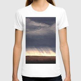 Storm Over Saskatchewan Fields T-shirt