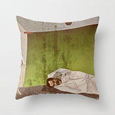 Sad Sack Throw Pillow