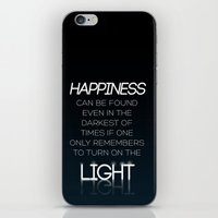 dumbledore iPhone & iPod Skins featuring Harry Potter Albus Dumbledore Quote by raeuberstochter