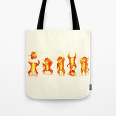 Fire Gang  Tote Bag