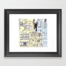 Neighborhood Framed Art Print