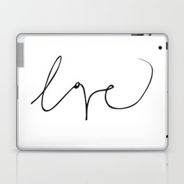 LOVE NO3 Laptop & iPad Skin