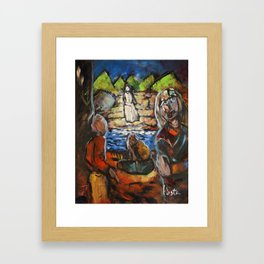 """The Span Between"" Framed Art Print"