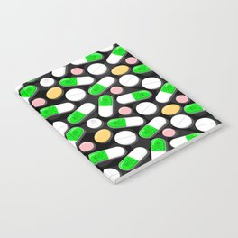 Deadly Pills Pattern Notebook