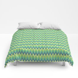 Summer Pattern Green Comforters