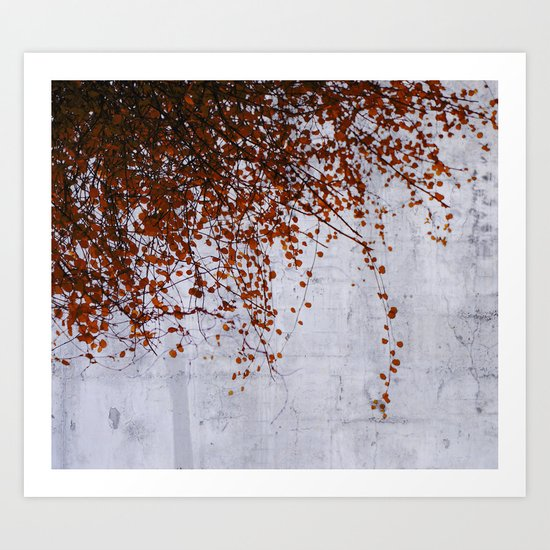 wall of tears Art Print