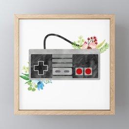 Here We Are Now, Entertain NES Framed Mini Art Print