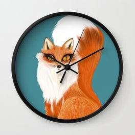 Beautiful Vixen Wall Clock