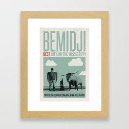 Bemidji: Best City on the Mississippi Framed Art Print