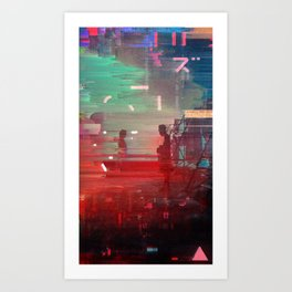 Databend 02 Art Print