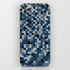 Pixelated Camo Alternate iPhone & iPod Skin