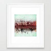 new york Framed Art Prints featuring New York New York by Bekim ART