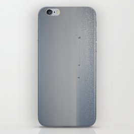 Distant Yachts  iPhone Skin
