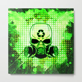 Earth Day Guerrilla Warrior Metal Print