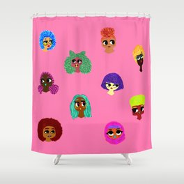 Sweet Doll Bits Shower Curtain