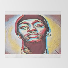 Live Forever Nipsey Hussle Throw Blanket