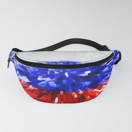 Extruded Flag of Russia Fanny Pack