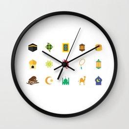 Eid Al Fitr Wall Clock