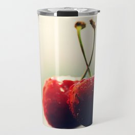 Two Gourmet cherry Travel Mug
