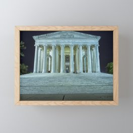 Jefferson Memorial Framed Mini Art Print