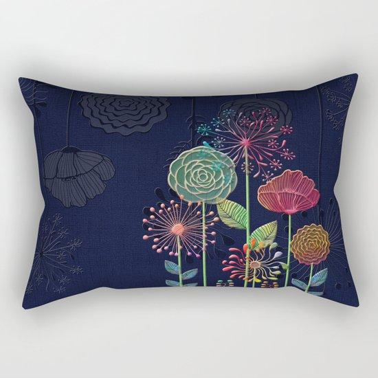 Flower Tales 2 Rectangular Pillow