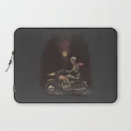 Death Rides in the Night Laptop Sleeve