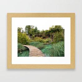 guided relaxation Framed Art Print
