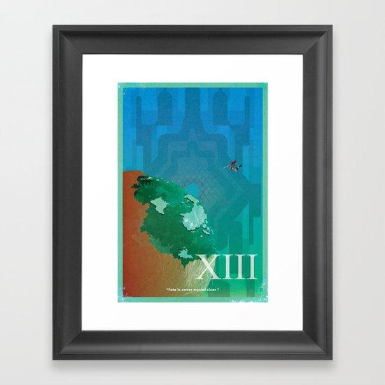 Vintage FF Poster XIII Framed Art Print