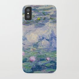 """Claude Monet """"Water Lilies(Nymphéas)"""" (9) 1916–19.jpg iPhone Case"""