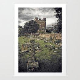 Tattershall Castle Art Print