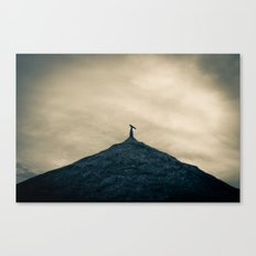 Bird on a roof, Pottuvil Point Canvas Print