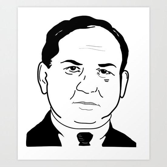 Joe 'The Boss' Masseria Art Print