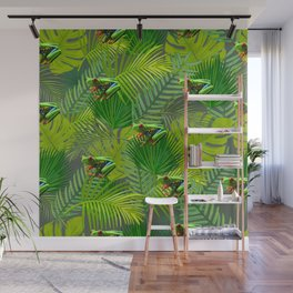 Frog Forest Wall Mural