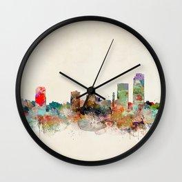 little rock arkansas Wall Clock