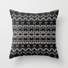 PANDEMONIUM highly detailed repeat pattern Throw Pillow