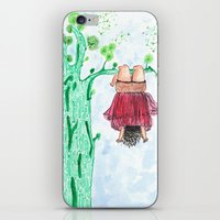 let it go iPhone & iPod Skins featuring LET GO! by Pritika Mathur
