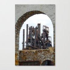Bethlehem Steel Blast Furnace 6 Canvas Print