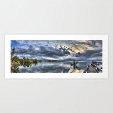 Barr Lake Art Print